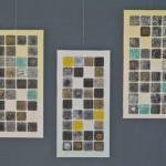 Maya Code - Mixed Media auf Holzplatte