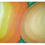Collage Triptychon 2006 - Öl auf Leinwand
