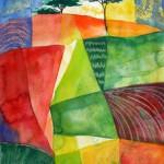 Coloured Seasons 2006 Aquarell auf Bütten 23x32cm