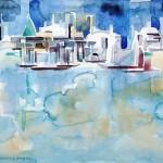Marina - Aug 2012 - Aquarell auf Bütten 24x29-cm