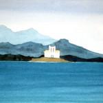 Samos 1983 Aquarell