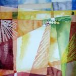 eingefangenes Licht 2007 Aquarell auf Bütten 40x50cm