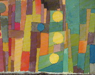 Paul Klee -  Im Stil von Kairuan - Aquarell 1914