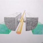 Labiles Gleichgewicht Bleistift - Buntstifte 1994