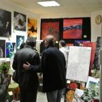 Galerieeröffnung in der Passage am 13.04.14