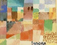 Paul Klee - Motiv aus Hammamet - Aquarell 1914